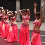 Presenta casa de la cultura espectáculo de  Danza Árabe