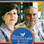 Los escritores Elva Macías y Eraclio Zepeda se presentan en el Festival 5 de Mayo