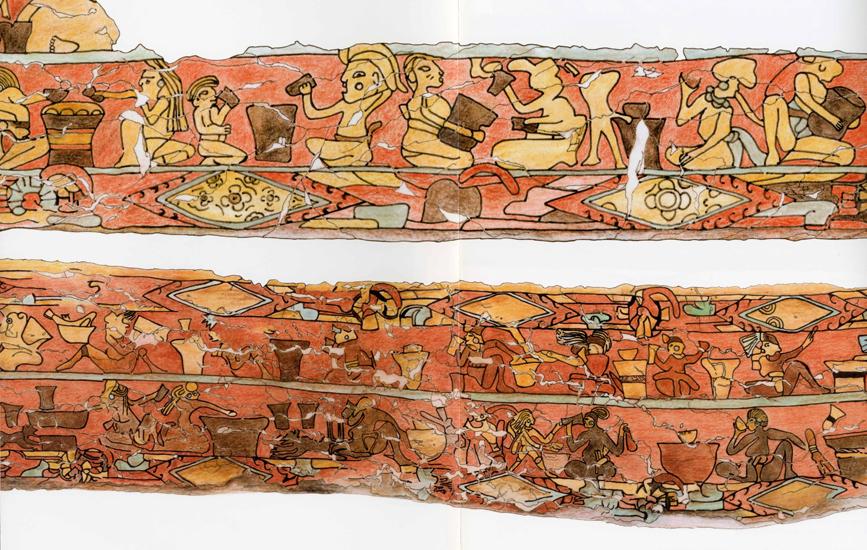 Mural de los Bebedores de Pulque, Cholula