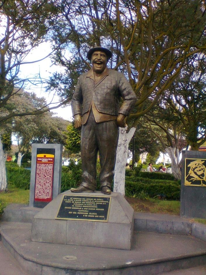 Estatua de Capiluna en Chignahuapan