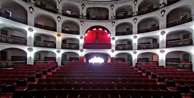 Interior del Teatro Principal