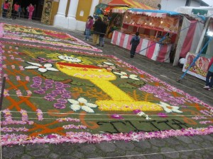 Alfombra de Flores, Iglesias de Tlatlahuquitepec