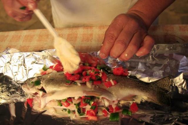 Truchas en Tlatlahuquitepec