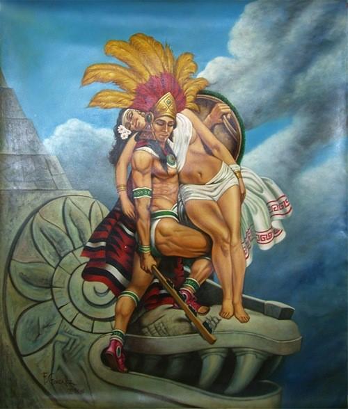 Leyenda del Popocatepetl e Ixtacihuatl
