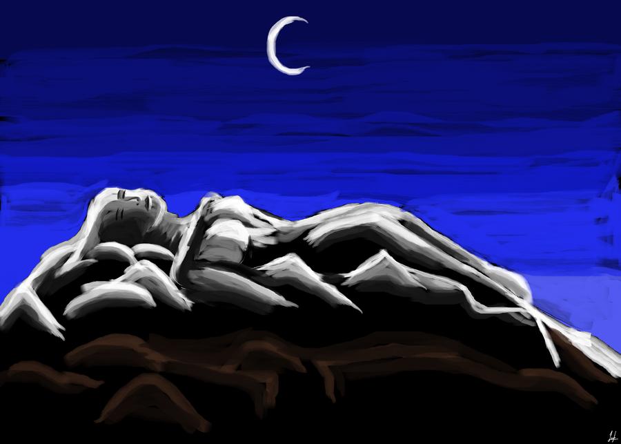 Mujer Dormida Volcan