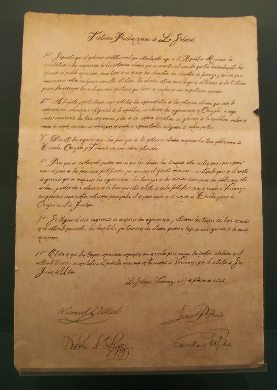 Tratados Preliminares de La Soledad