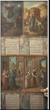 Lienzos del Siglo XIII