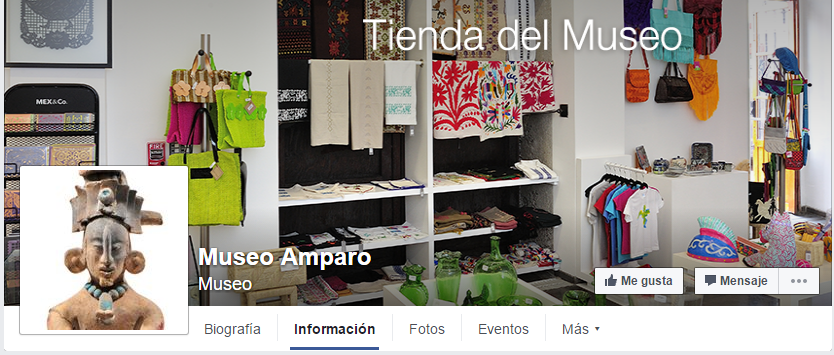 Museo Amparo Facebook