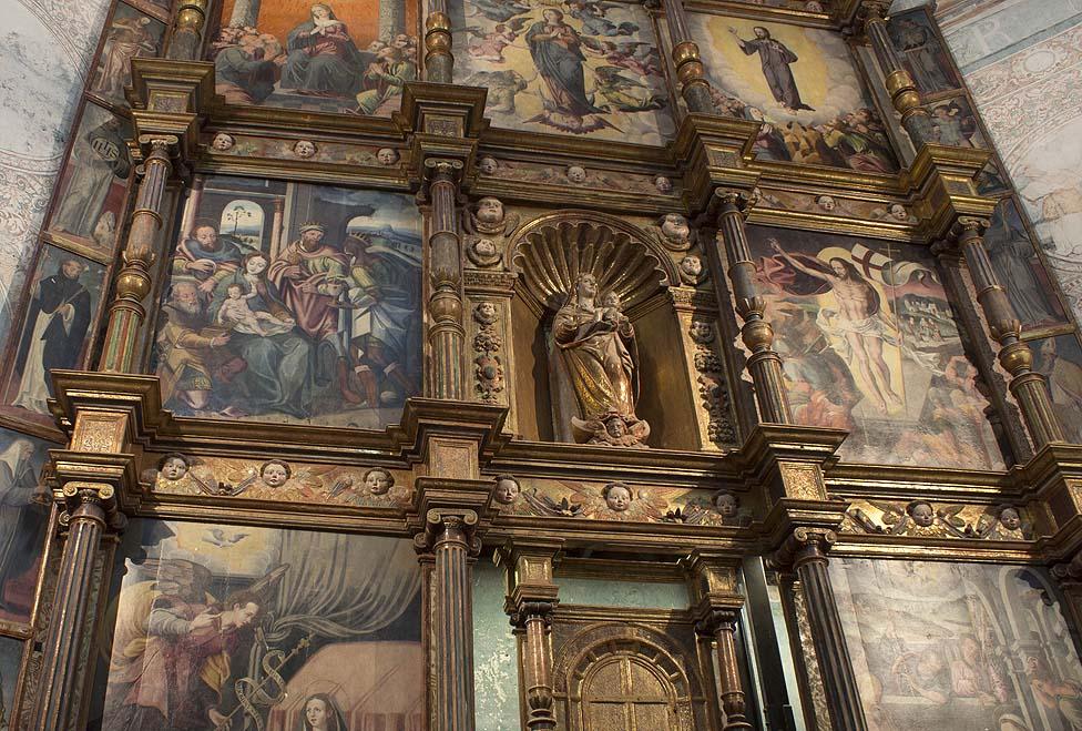 Retablo del Convento de Cuautinchán