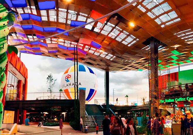 Centro comercial petfriendly Explanada Puebla